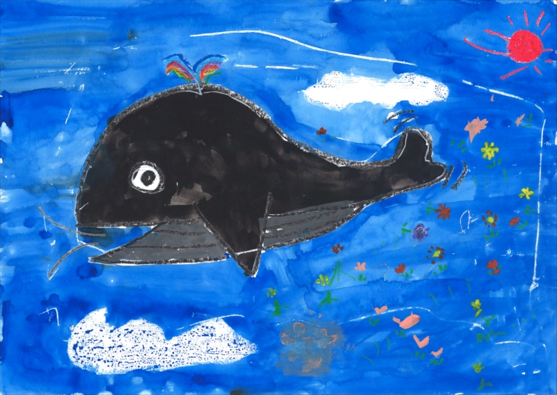≪空気をきれいにするクジラ≫1年 杉田朋軌 さま